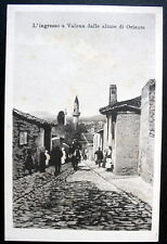 Albania Valona 1930s view of city from hill- L'Ingresso dalle Alture Di Oriente