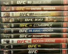 UFC Collection Volumes 94 - 103 ( 10 Volumes in Total, 20-Disc Set) NEW/SEALED