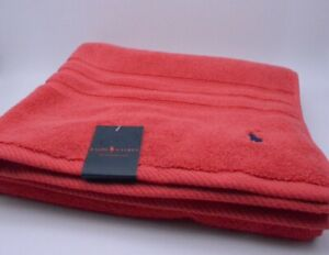 Ralph Lauren Beach Towel In Red Cotton New With Tags Genuine Item RRP £45