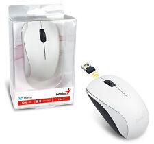 Genius NX-7000 Wireless Mouse Blue Eye Sensor & Amazing Tracking Accuracy -WHITE