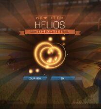 Rocket Liga PS4-Helios RLCS Ventilador recompensa cohete Trail