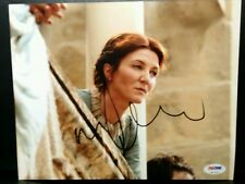 Michelle Fairley as Lady Catelyn Stark Game of Thrones signed 8x10  PSA/DNA