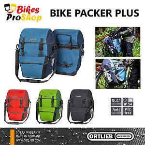 ORTLIEB Bike Packer PLUS (Pair) - Bike Bicycle Panniers Bags GERMANY 2021