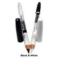 Saffron London Black & White 2 in 1 Kohl Eyeliner Eye Liner Double Pencil - Soft