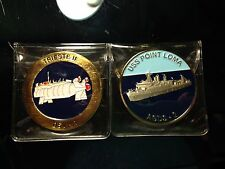 Uss Point Loma/Trieste II Challenge coin.