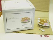 PHB MIDWEST ROAST TURKEY DINNER TRINKET BOX  W/ KNIFE & FORK TRINKET