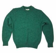 """Vintage 1980s L.L. Bean Crewneck Sweater Size M Wool Blend 42"""" Chest"""
