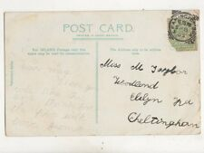 Leamington Spa [1] Squared Circle Postmark 8 Sep 1905 499b