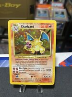 🔥 Charizard - Base Set - Pokemon 1999 - VERY NICE! 🔥