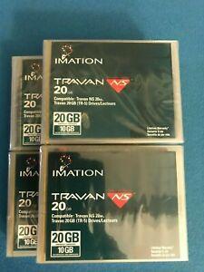 4 NEW Imation 10Gb/20GB TR-5 Travan  Data Tape Cartridges 12115