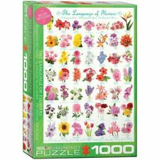 Eurographics Puzzle 1000 piece Jigsaw - The Language of Flowers EG60000579