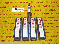 Mercedes-Benz 4 Piece Spark Plug Set - BOSCH - 0242240619, FR6MPP332 -NEW OEM MB