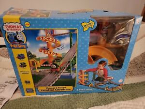 Thomas and Friends Thomas & Percy's Carnival Adventure Train Set Box Take Along