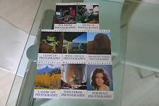 Hasselblad brochures, 8 titres différents. Tous en excellent état
