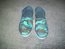 Womens Blue Size 7 Canvas Espadrille