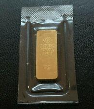 DEGUSSA 10 Gramm Feingold Barren Goldbarren 999,9  OVP Unzirkuliert/Prägefrisch