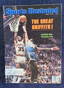 3.31.80 DARRELL GRIFFITH Sports Illustrated LOUISVILLE CARDINALS - Old Print Ads