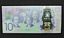 1867 2017 $10 Dollar Bank of Canada Banknote 150th Anniversary Bill GEM UNC