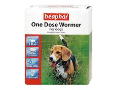 Beaphar One Dose Wormer Medication Tablets For Medium Dogs 6-20kg