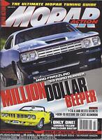Mopar Action Magazine 1969 Road Runner Yellow Multi Carb Ragtop Tuning Guide