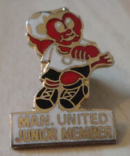 Manchester United Vintage 70s 80s Badge Maker Reeves bham Broche Pin 20 Mm x 29 mm