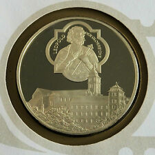 AUSTRIA 1976 BABENBERG EXHIBITION 38mm HALLMARKED SILVER PROOF MEDAL - cover