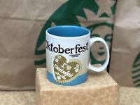 Starbucks Coffee Mug - OCTOBERFEST V2 - Global City Icon Series 16 Oz NEW MIT