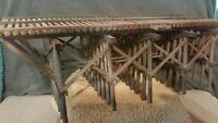 HO TRACK DETAIL TRESTLE BRIDGE EXACTRAIL ATLAS ATHEARN FVM CORNERSTONE WEATHERED