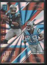 CAM NEWTON /TED GINN JR. 2016 PANINI UNPARALLELED PERFECT PAIRS CARD #PP-3