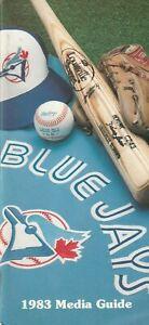 1983 Toronto Blue Jays Official Media Press Guide 120 Pages L@@K Scans Best Deal