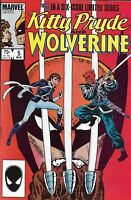 Kitty Pryde And Wolverine Comic 5 Copper Age First Print 1985 Chris Claremont