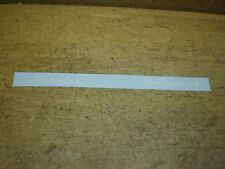 """Schwinn Approved Hollywood 26"""" Bicycle White Chainguard Decal 15"""" Long"""