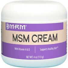 MRM MSM CREAM WITH VITAMIN A & D - REDUCE INFLAMMATION 113g