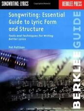 Songwriting: Essential Guide to Lyric Form and Structure: Tools and-ExLibrary