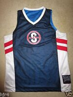 Samuel Adams Beer Boston Basketball Jersey LG L mens