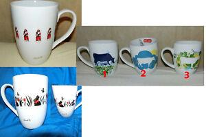 1 x  Tasse Lindt Goldhase oder Weihnachtsmann oder Buko