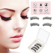 3D Magnetische Falsche Wimpern Mit 3 Magneten Unechte Make-up Geschenk Eyelashes