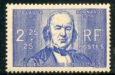 PROMOTION / / TIMBRE DE FRANCE NEUF N° 439 ** CLAUDE BERNARD COTE 32 €