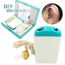 NEW AXON F-18 Hearing Aid Rechargeable Adjustable Tone Sound Voice Amplifier