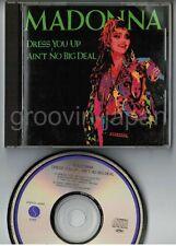 "MADONNA Dress You Up~Ain't No Big JAPAN 4-track 5"" MAXI CD EP 28XD-456 w/PS"