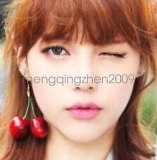 Hot Women Fashion Girl Red Cherry Earring Eardrop Ear Accessories Jewelry
