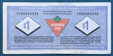 Lot49 Canadian Tire Money CTC S20-Fa 1 Replacement $1.00 Bill