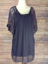 Urban outfitters: Sparkle and Fade Lace Sleeved Dress - Medium