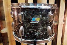 """Used Vintage Ludwig Classic 13"""" Tom - Black Diamond Pearl"""