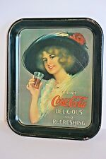 Coca-Cola 1913 Hamilton King Girl Standard Metal Serving Tray Reproduction