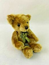 "Harrods Knightbridge Plush Bear 2002 Sitting 7"" Brown"