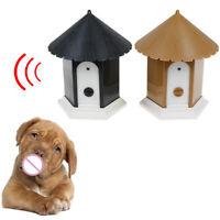 Outdoor ultrasonic anti barking control device dog pet stop barking training ¾Q
