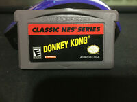Donkey Kong Classic NES Series Nintendo Game Boy Advance *Authentic*