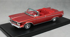 Neo Models Imperial Crown Convertible in Dark Red Metallic 1963 44845 1/43 NEW