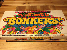 Bonkers - 1978 Parker Brothers - 100% Complete
